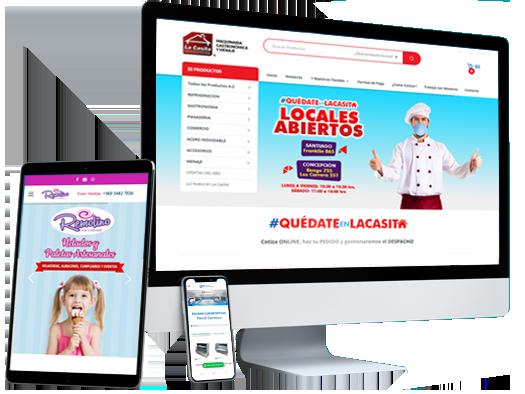 Paginas web y tiendas virtuales